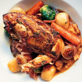 Chicken with Autumn Vegetables and Madeira
