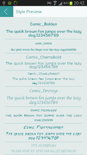 Comic Font for Flipfont Free