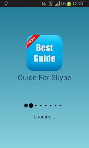Guide For Skype