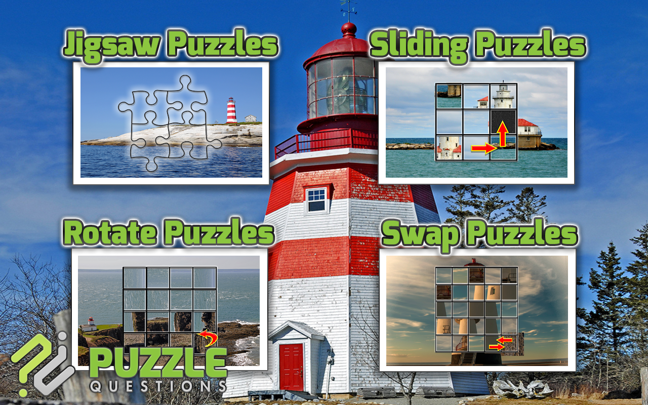 More Lighthouse Puzzles- screenshot