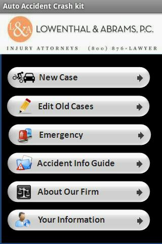 Auto Accident Crash Kit - screenshot