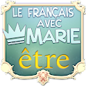 "French with Marie : ""Etre"" icon"