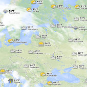 Live World Weather Map