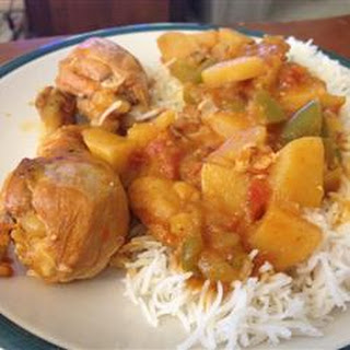 Jenny's Cuban-Style Slow-Cooker Chicken Fricassee.