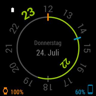 玩個人化App|Chrono Watch Face for Wear免費|APP試玩