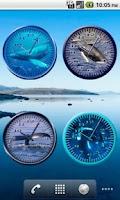 Screenshot of Whale Humpback 4 Analog Clock
