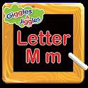 Letter M for LKG Kids Practice