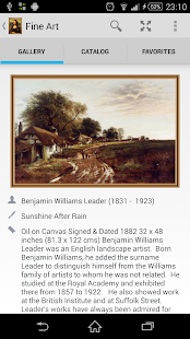 Fine Art widget- screenshot thumbnail