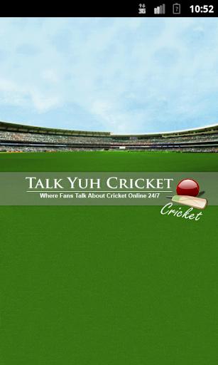 Talk Yuh Cricket