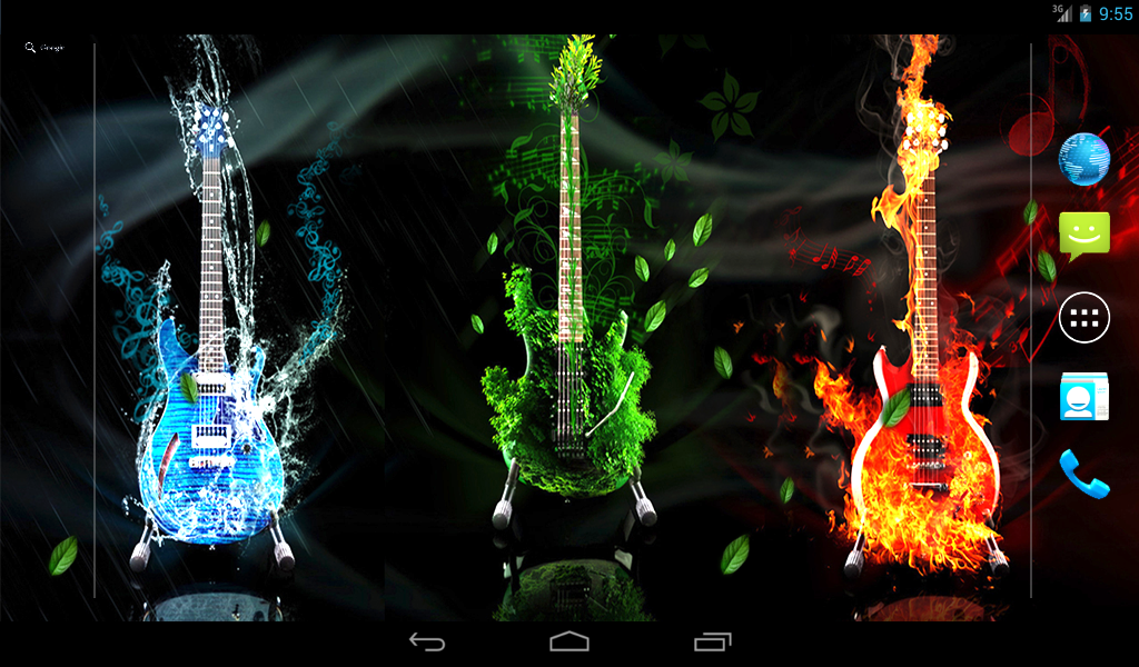 Music Live Wallpaper- screenshot