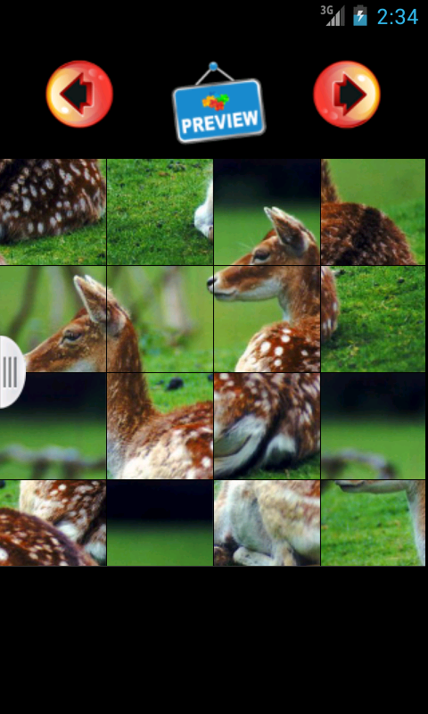 Jigsaw Animal Couples Puzzle - screenshot