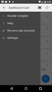 Dashboard Cast - screenshot thumbnail