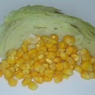 Caribbean Cabbage in Wine Sauce.