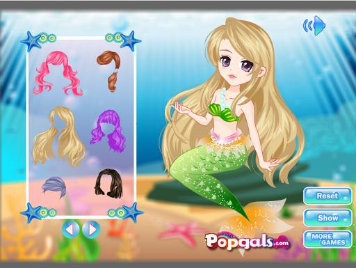 小美人鱼公主游戏