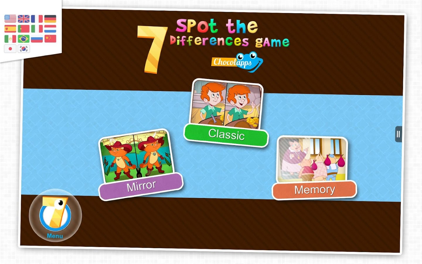 7 differences - Game for kids- screenshot
