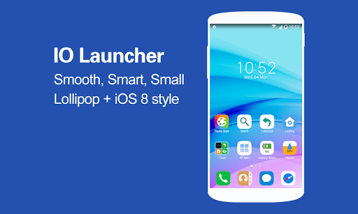 IO Launcher Lollipop + iOS 8