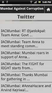 Mumbai Against Corruption - screenshot thumbnail