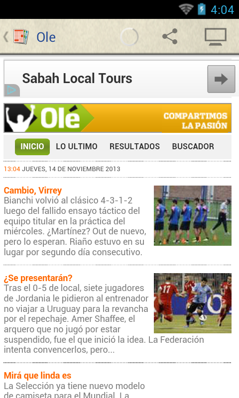 Argentina Periódicos - screenshot