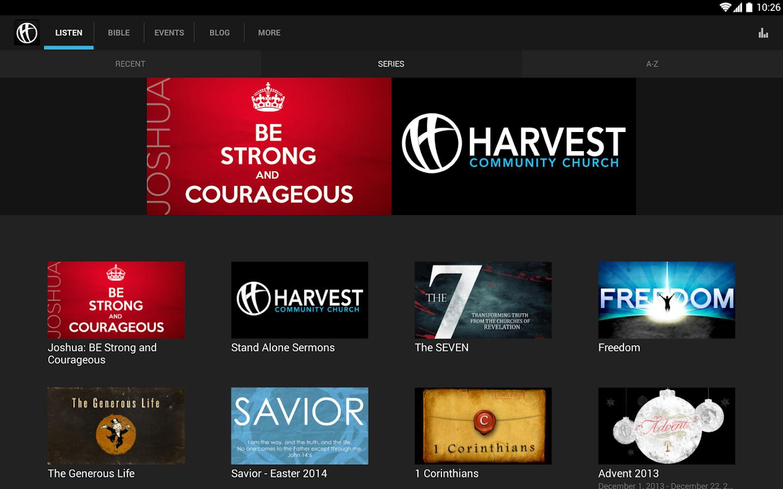 Harvest Church - screenshot