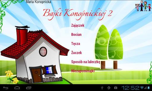 Bajki Konopnickiej cz.2