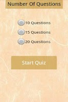 Screenshot of Learn Korean Quiz Beginner
