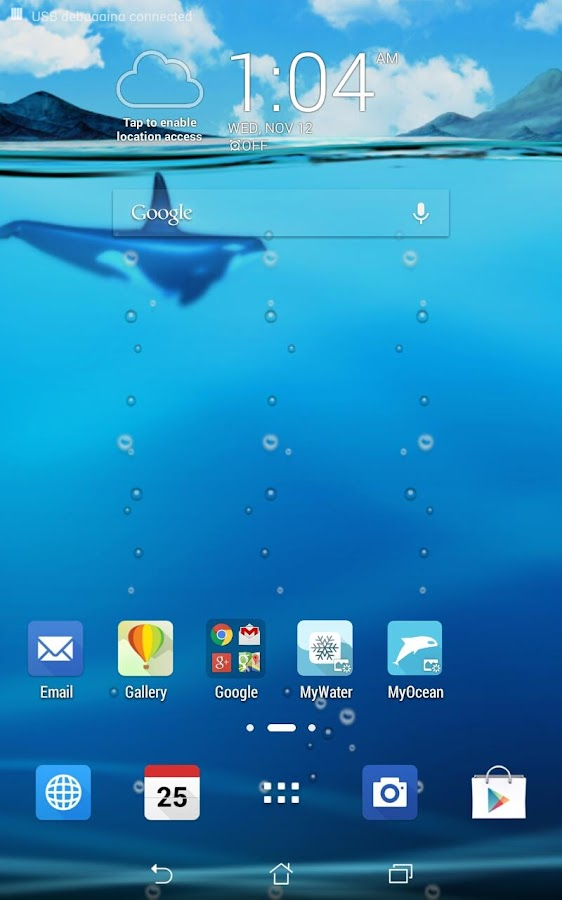 ASUS LiveOcean(Live wallpaper) - Android Apps on Google Play