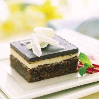 Chocolate-Mint Brownie Cake.