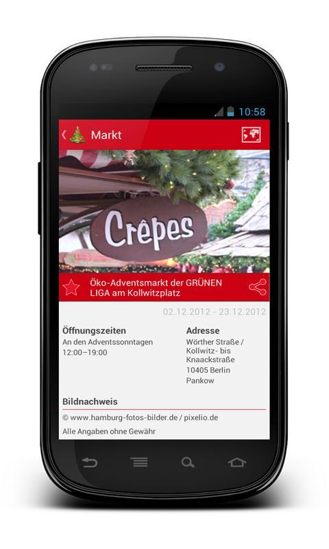 Berliner Weihnachtsmärkte - screenshot