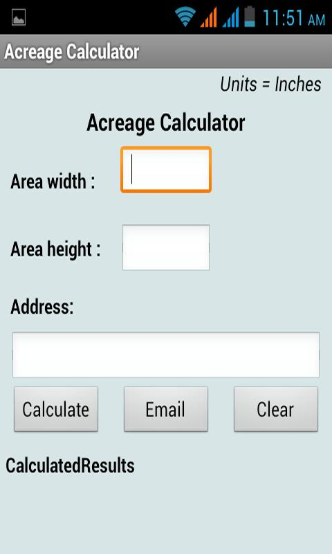 Acreage Calculator Android Apps On Google Play