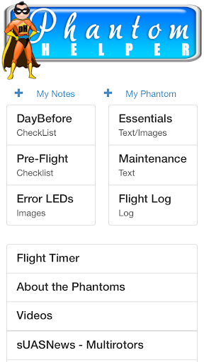 Phantom Helper App v2