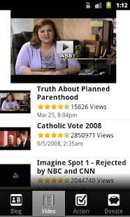 CatholicVote Mobile - screenshot thumbnail