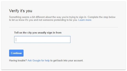 Verify a user's ideny with a Login Challenge - G Suite ...