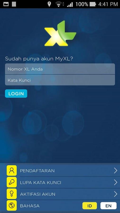 MyXL - screenshot