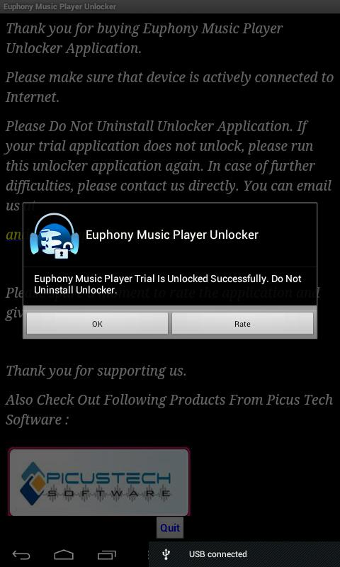 Euphony Music Player Unlocker- screenshot