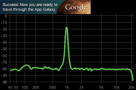 FrequenSee - Spectrum Analyzer - screenshot thumbnail