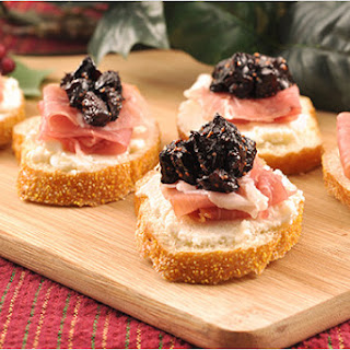 Port, Prosciutto and Fig Crostini