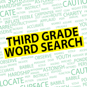 Word Search Third Grade