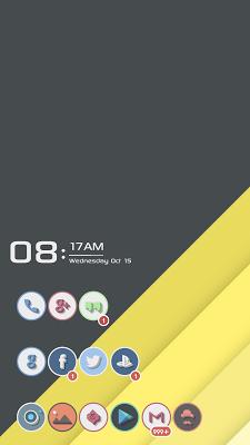 Elementary Zooper Widgets - screenshot