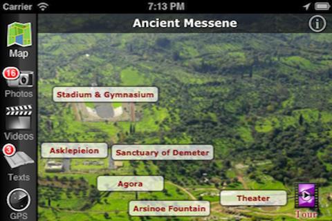 EasyGuideApp Messene- screenshot