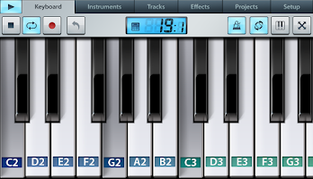 Screenshot of FL Studio Mobile