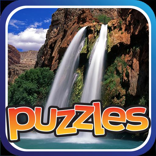 滝のパズル - 無料 解謎 LOGO-玩APPs