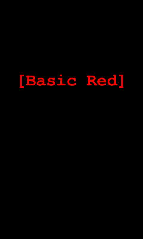 Basic Red for CM7- screenshot