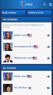 LPGA App - screenshot thumbnail