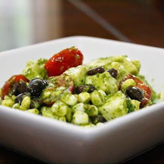 Corn, Tomato, And Avocado Salad With Cilantro-lime Dressing