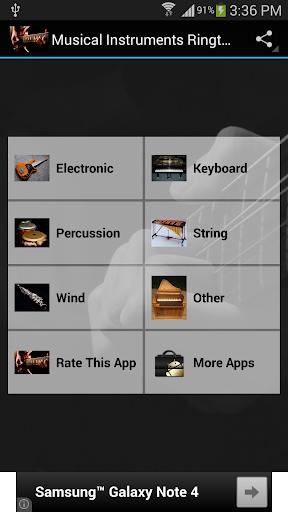 Musical Instruments Rintones