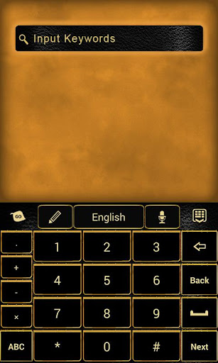 無料个人化AppのGO Keyboard Golden Age Theme|記事Game