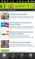 Screenshot of CRIJ de Haute-Normandie