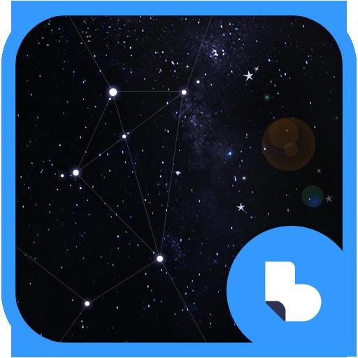 우주 별자리 버즈런처 테마 (홈팩)