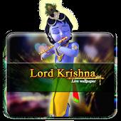 Krishna Playing Flute Live WP