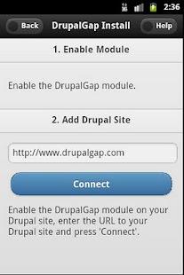 DrupalGap- screenshot thumbnail